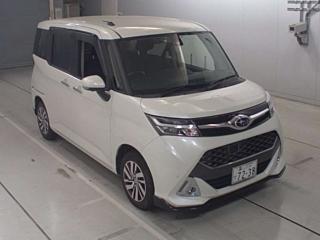 SUBARU JUSTY Custom R Smart Assist 4WD с аукциона в Японии