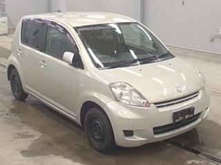 TOYOTA PASSO 4WD с аукциона в Японии