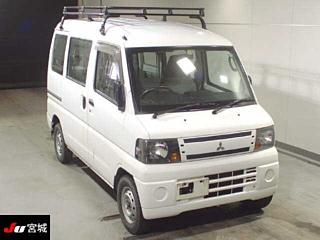 MITSUBISHI MINICAB 4WD CD van с аукциона в Японии