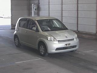 TOYOTA PASSO X с аукциона в Японии