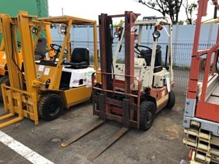 NISSAN FORKLIFT ニッサン с аукциона в Японии