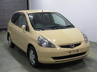 HONDA FIT 4WD 1.3A с аукциона в Японии