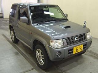 NISSAN KIX RX 4WD с аукциона в Японии